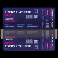 Lizenz Flat Rate Basic: Flat Rate