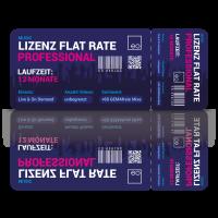 Lizenz Flat Rate Professional: Flat Rate
